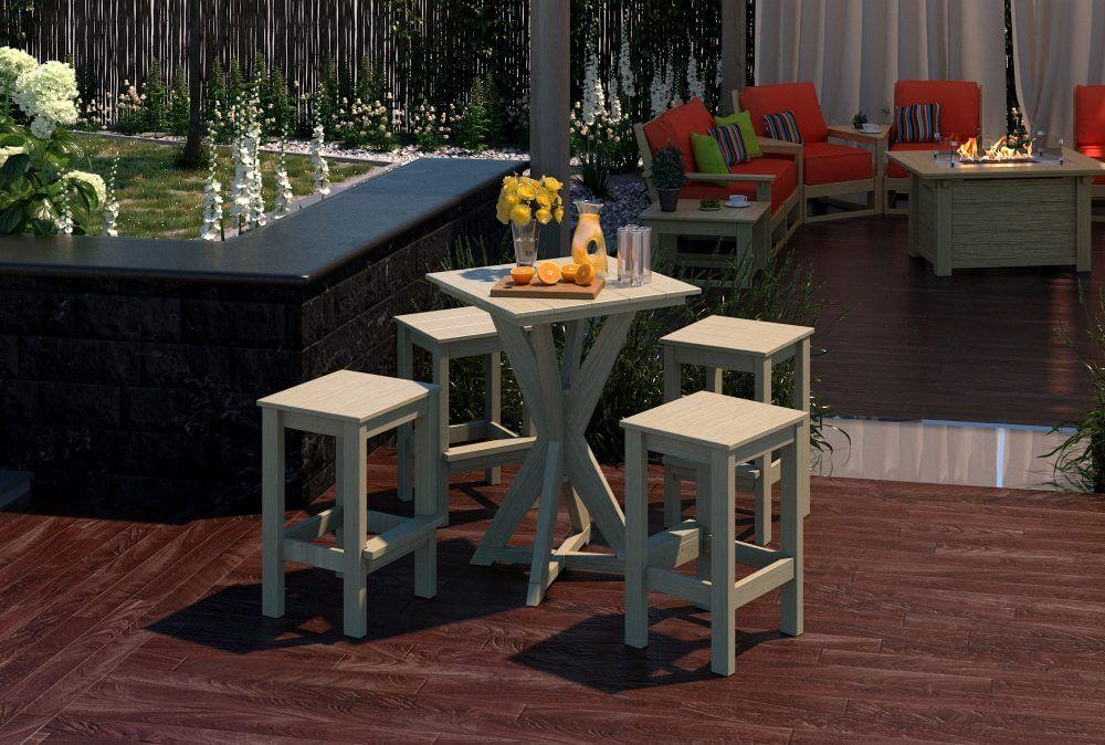 Hudson Bar Bistro Table