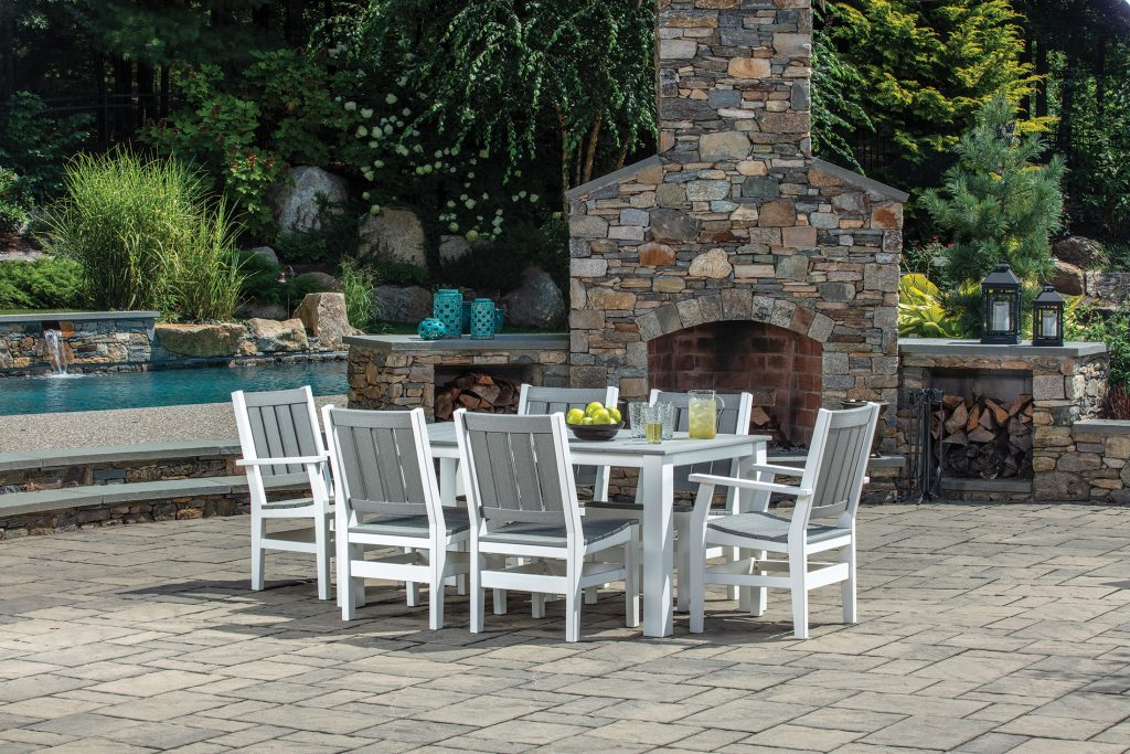 Milano Dining Table and Dining Chairs