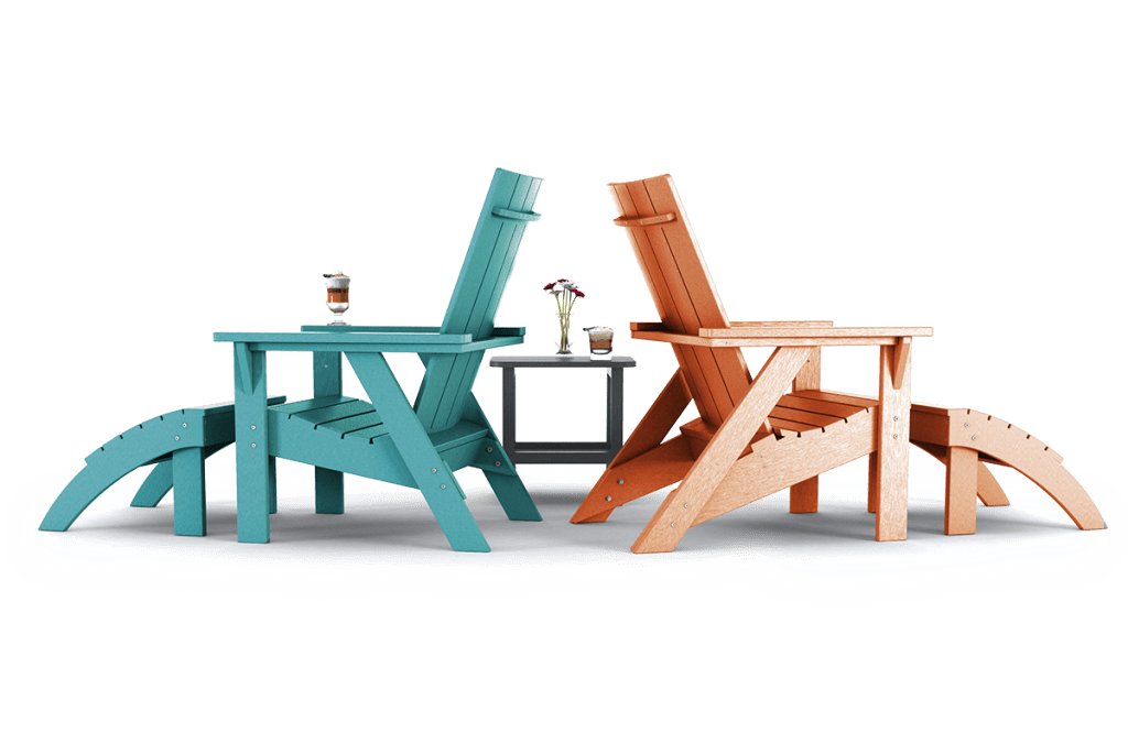 Summit Chat Chairs with Ottoman