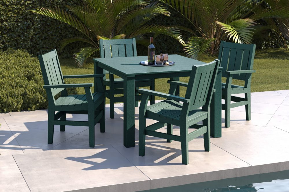 Milano Dining Table with Side Chairs