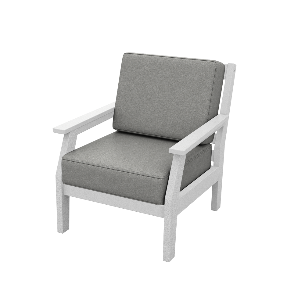 Milano Lounge Chair with Cushions