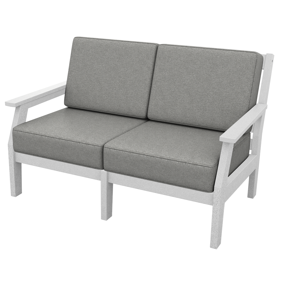 Milano Love Seat with Cushions