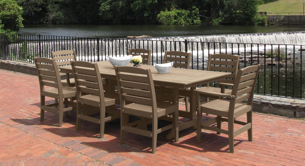 Beaumont Dining Table with Maywood Dining Chairs