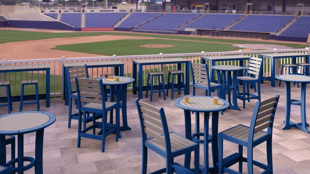 Laguna Bar Tables with Maywood Chairs