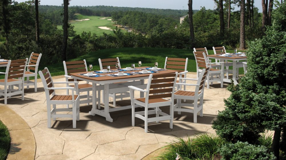 golf course outdoor dining | Napa Dining Table, Maywood Dining Chairs