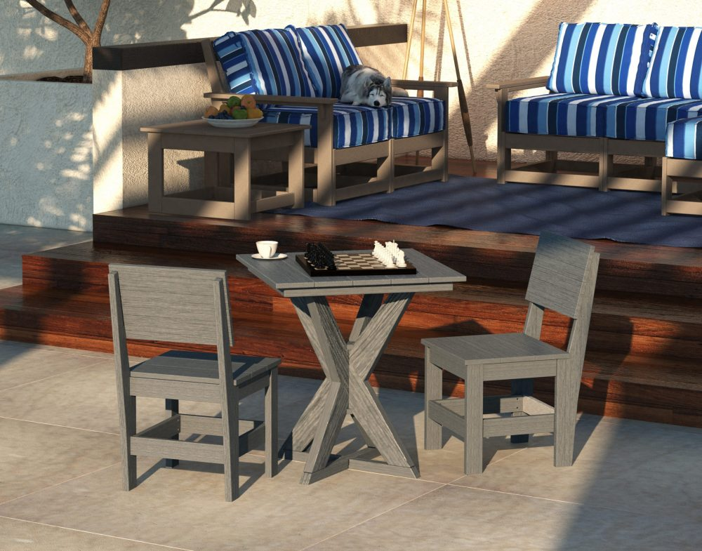 Hudson Dining Table with Side Chairs