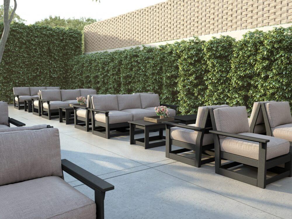 Hudson Modular Sofa, Lounge Chairs | Coffee Tables