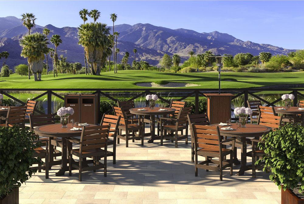 Laguna Dining Tables, Maywood Dining Chairs