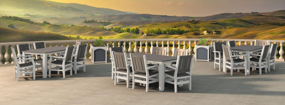 Milano Dining Tables and Dining Chairs