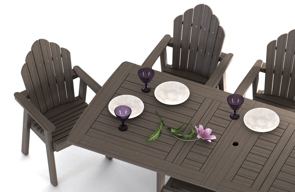 Napa Extension Dining Table, yarmouth dining chair